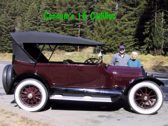 1916 cadillac for sale